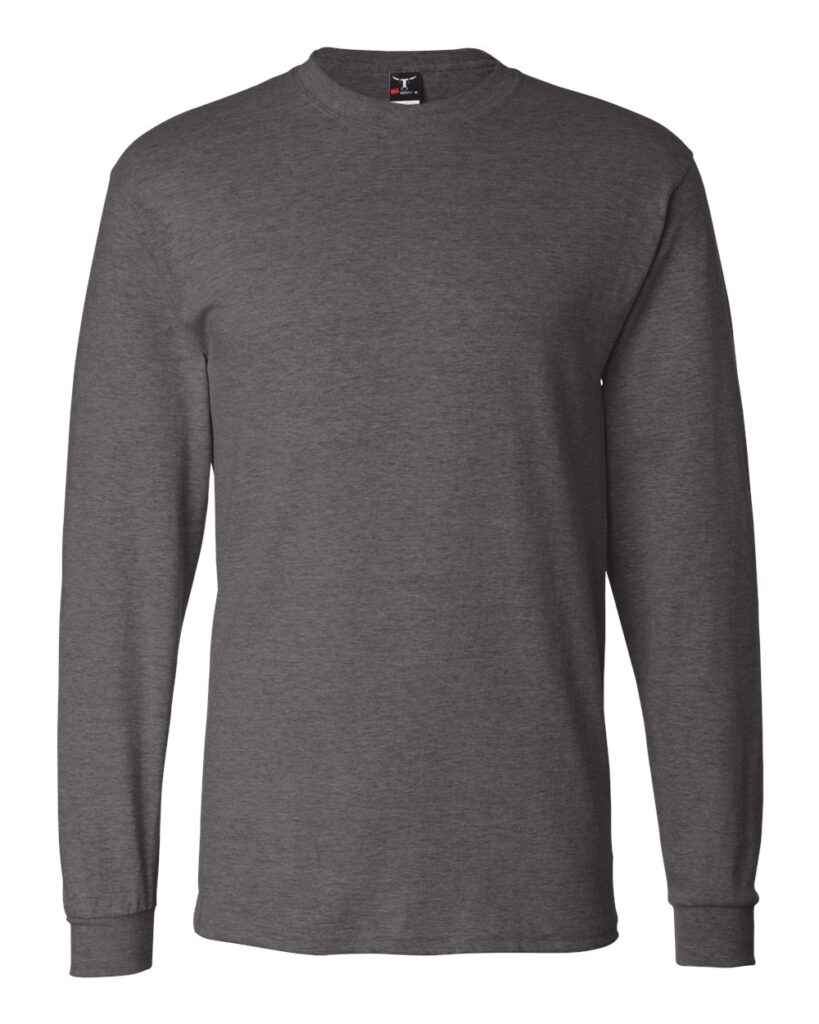 Hanes - Beefy-T® Long Sleeve T-Shirt - 5186
